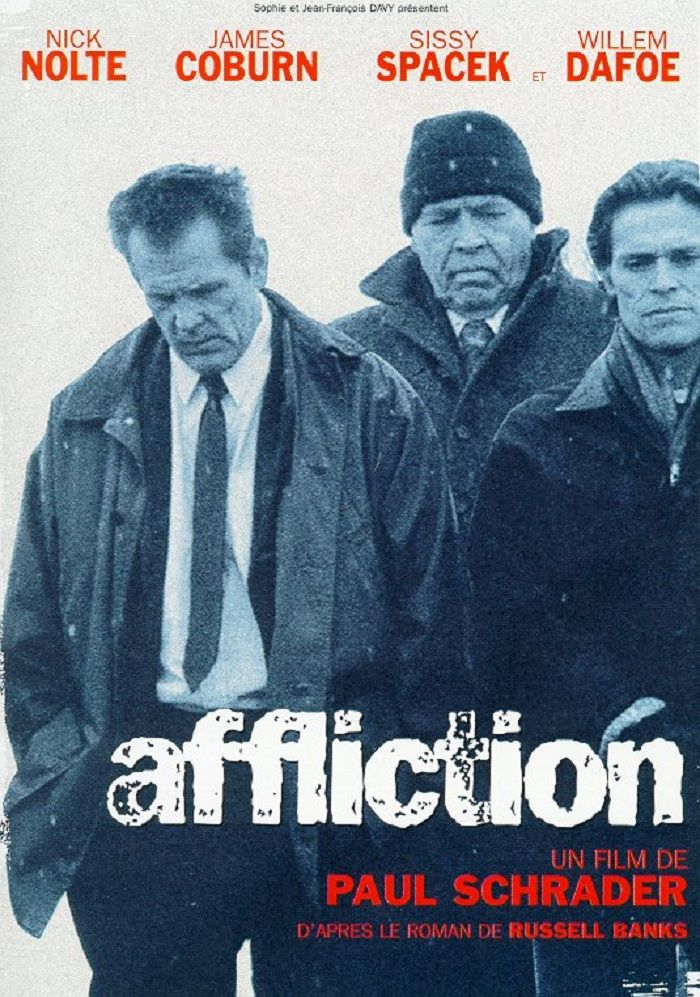1999 James COBURN Affliction, What to watch movies