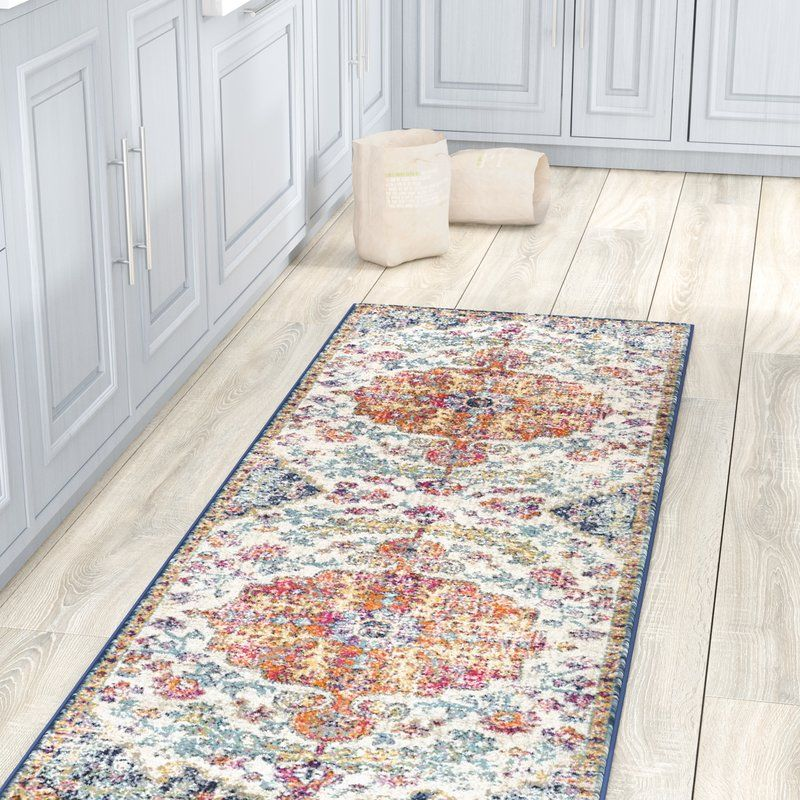 Hillsby Oriental Orange Navy Area Rug Area Rugs Orange