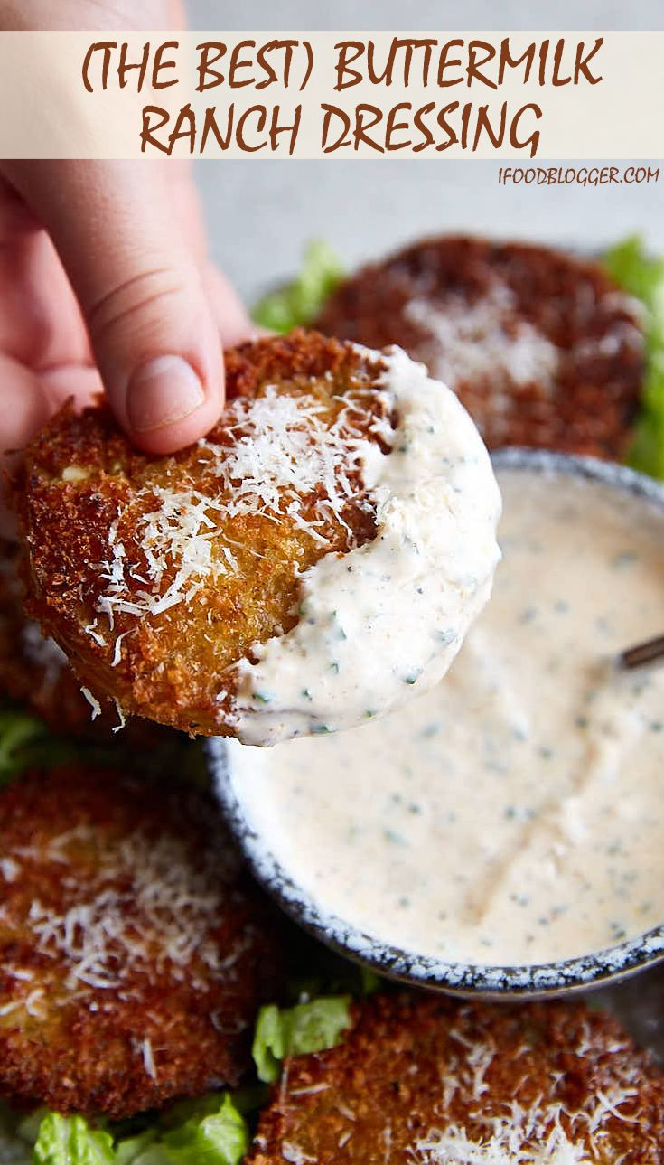 The Best Ranch Dressing Recipe You Will Ever Need Use It With Fr Homemade Ranch Dressing Buttermilk Buttermilk Ranch Dressing Buttermilk Ranch Dressing Recipe