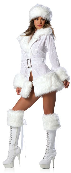 from Knox hot naked girls with white fur boots