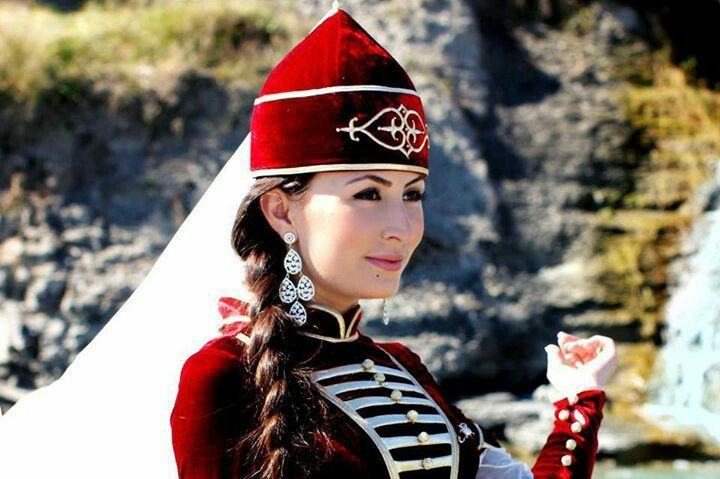 Circassian Pshasha Women Regalia Georgia