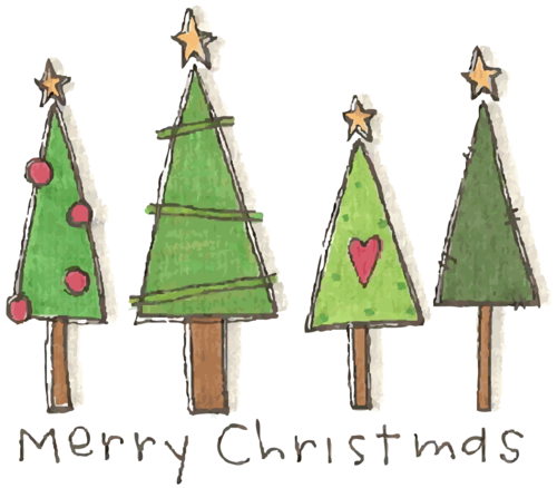 sharing weihnachten weihnachtskarten aquarell. Black Bedroom Furniture Sets. Home Design Ideas