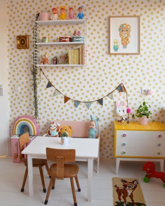 These vintage finds will transform your child's bedroom into a realm of imagination. - #kidsrooms