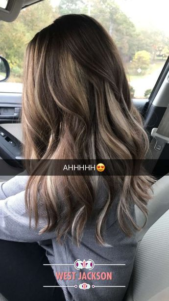 But With More Of A Caramel Beige Tone Hair Styles Long Hair Styles Hair Color Balayage