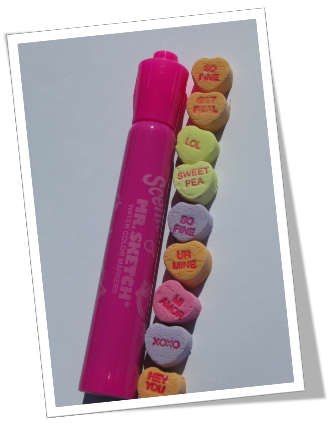 Nonstandard Measurement With Conversation Hearts With