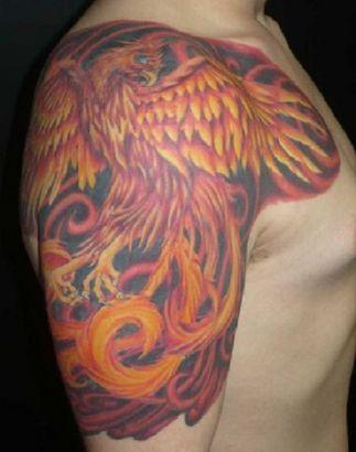 phoenix tattoo on shoulder phoenix pics tattoo on shoulder tattoo from itattooz tattoo. Black Bedroom Furniture Sets. Home Design Ideas