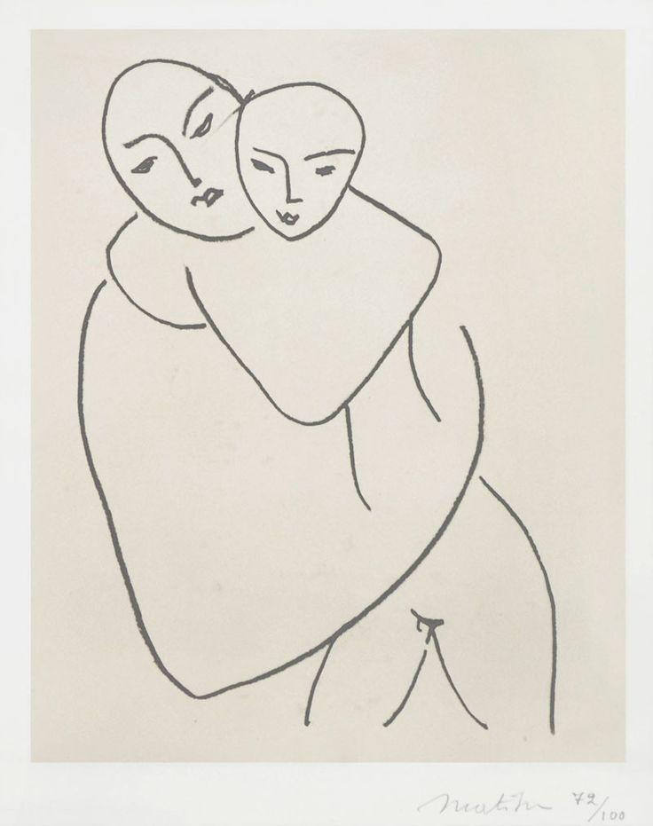 """Madonna col Bambino"", Henri Matisse, 1951"