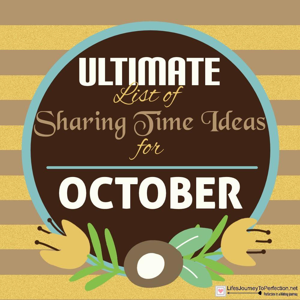 Best 25+ Sharing time october 2016 ideas on Pinterest ...