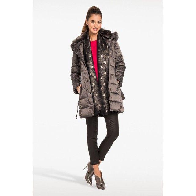 4792afafb104d Doudoune col montant fausse fourrure   La Redoute   Winter jackets ...