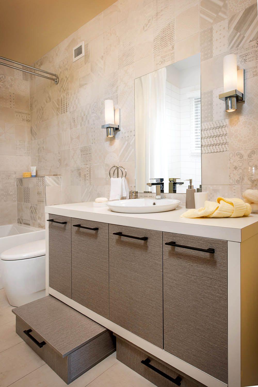 Salle De Bain Blanche Et Rouge ~ salle de bain produite dans le cadre de l mission ma maison rouge