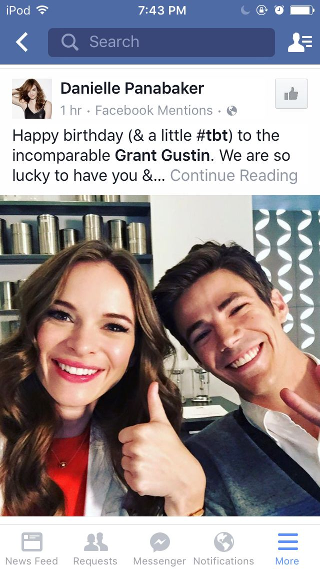 Danielle Panabaker and GG