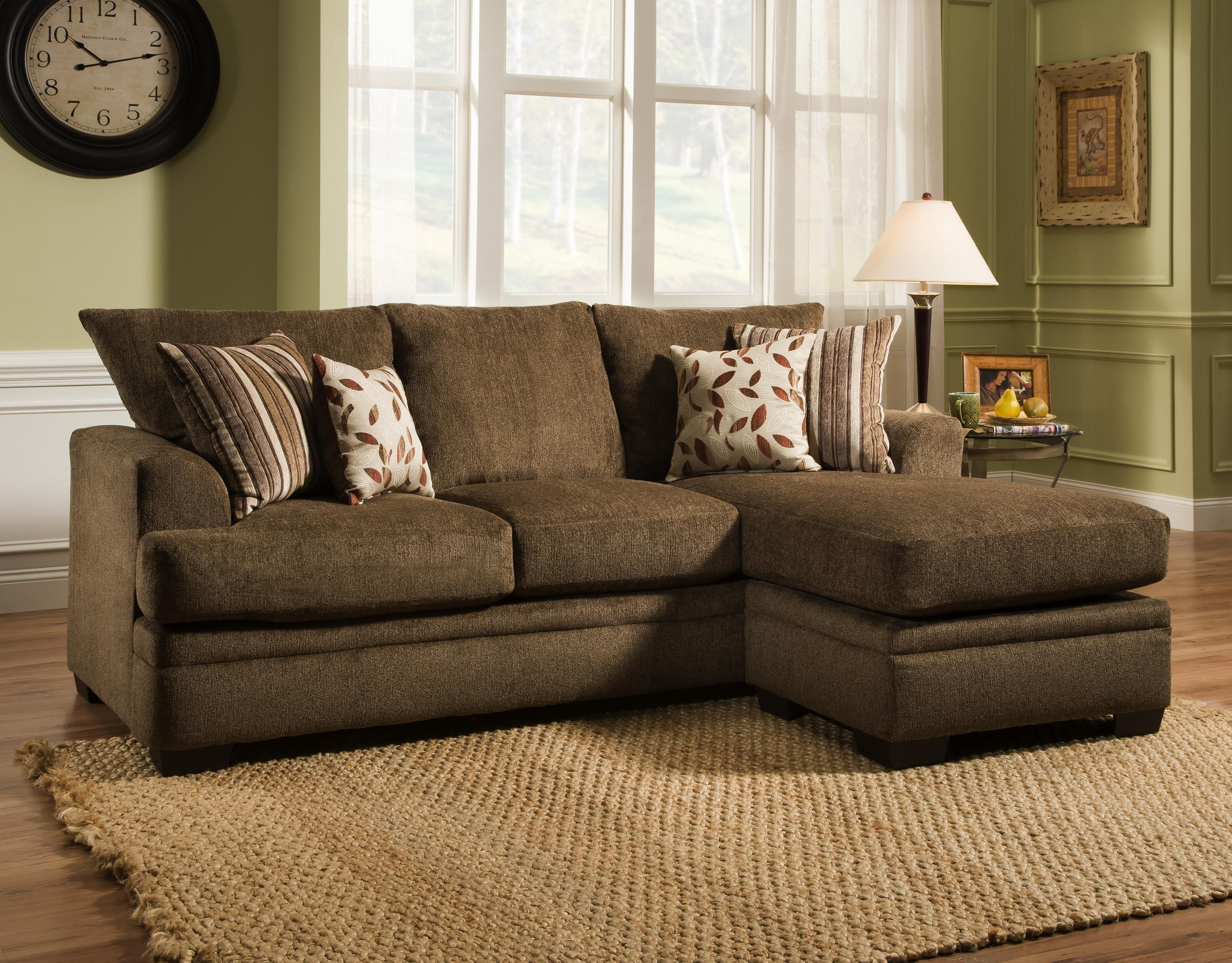 3650 Sofa Chaise By Peak Living Chelsea Home Furniture American
