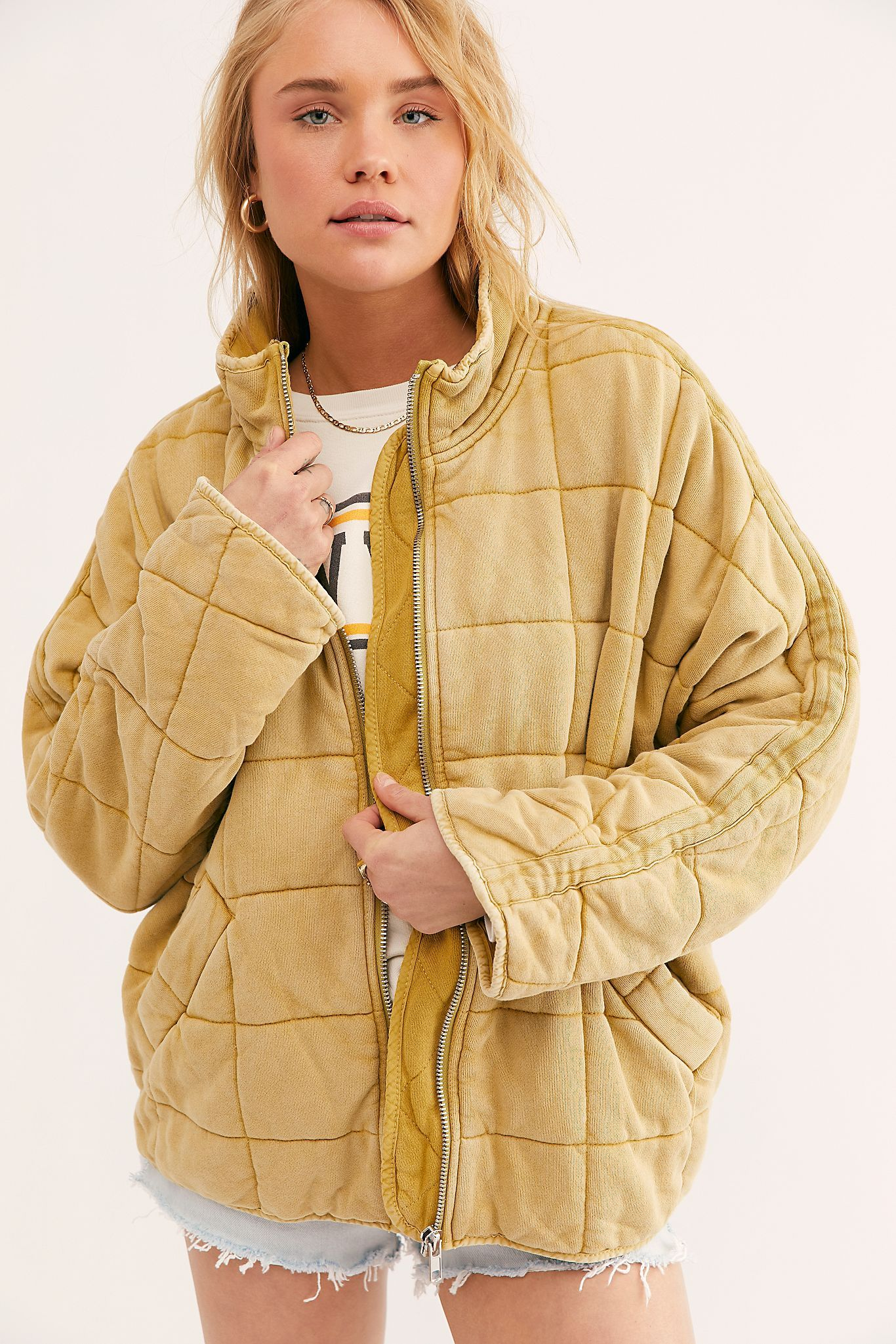 Dolman Quilted Knit Jacket Knit Jacket Womens Fashion Jackets Coats Jackets Women [ 2049 x 1366 Pixel ]