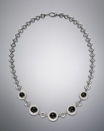 "Cerise Necklace, Black Onyx, 18.5"" by David Yurman at Neiman Marcus."