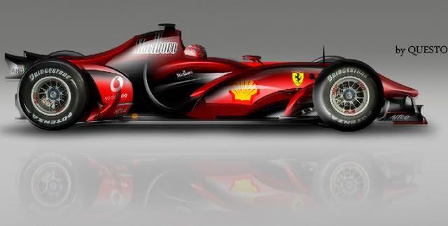Ferrari 2020 F1 Concept Model Reveals Ferrari Electric Go Kart