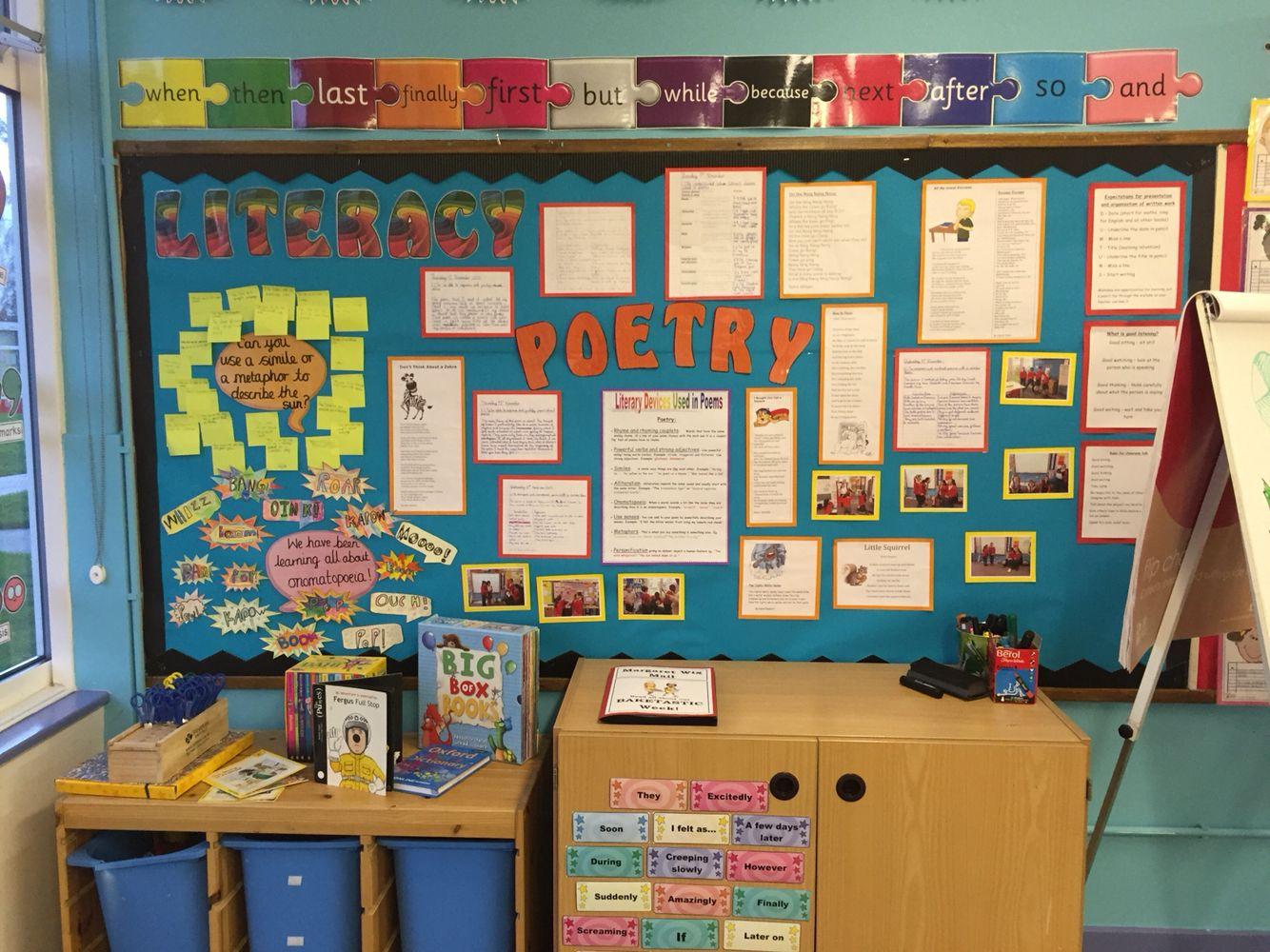 poetry ks2 literacy onomatopoeia 1 a classroom displays literacy y classroom. Black Bedroom Furniture Sets. Home Design Ideas