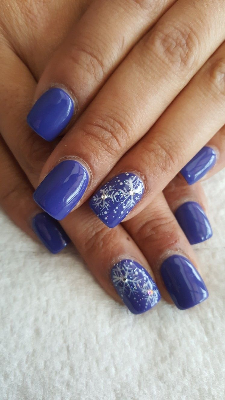 Pin by melinda elwood on Nails | Pinterest | Packer nails, Winter ...