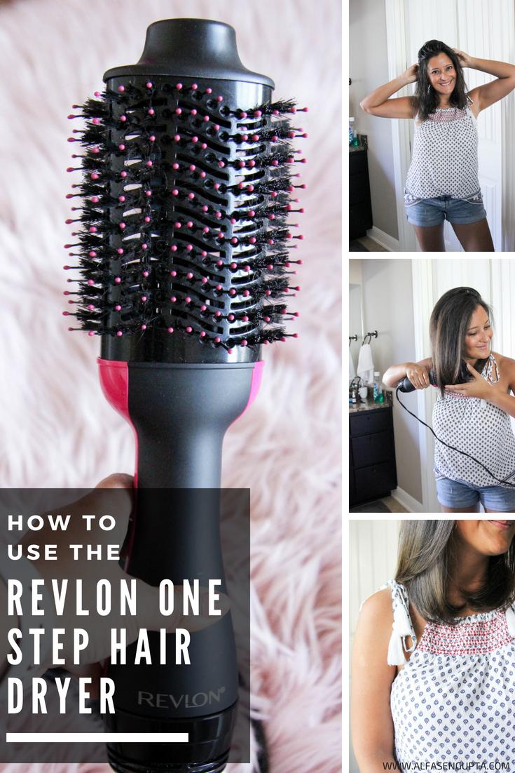Revlon One Step Hair Dryer Tutorial Love Alfa Hair Tutorials Mom Hair Quick Hairstyles Re Revlon Hair Dryer Brush Revlon Hair Dryer Hair Dryer Brush