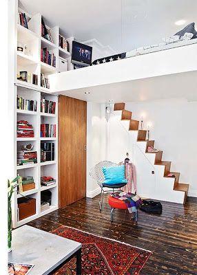 apartamento pequeo con altillo ideas para decorar disear y mejorar tu casa