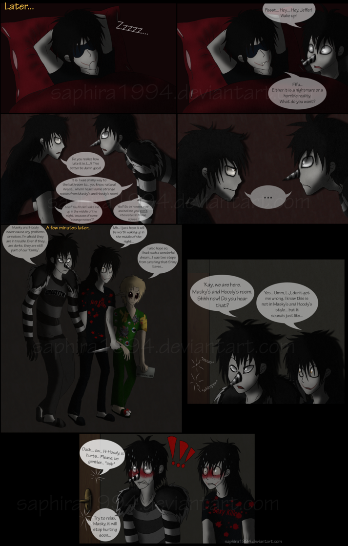 Adventures With Jeff The Killer Page 15 By Sapphiresenthiss On
