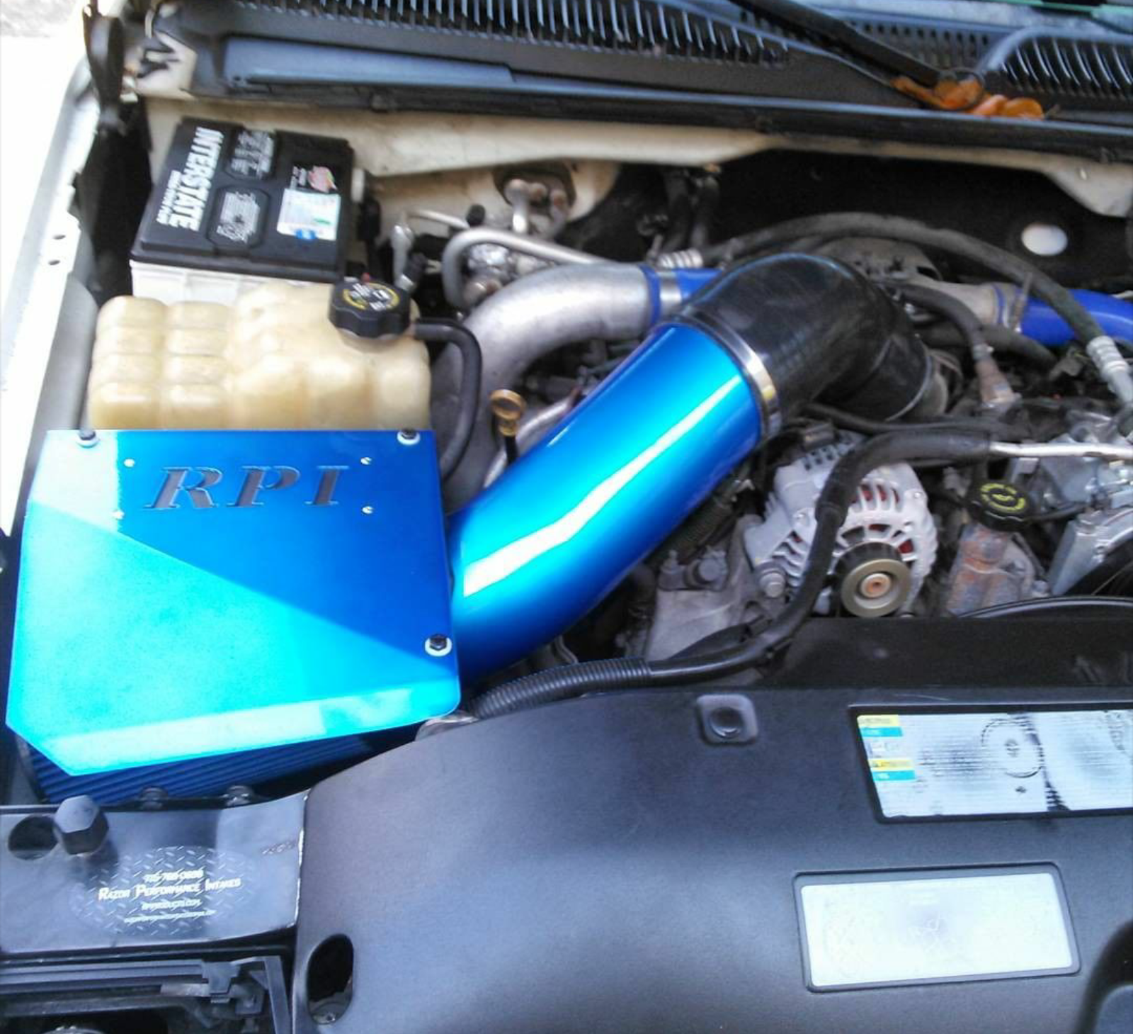 5 Inch RPI Diesel cold air intake system for Duramax