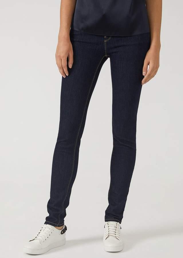 1315bdf9cb J28 super skinny jeans in stretch denim | Products | Emporio armani ...