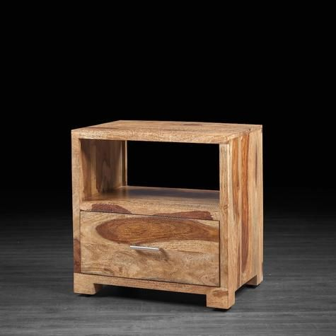 Table de chevet bella en bois de rose table de chevet - Table de chevet rose ...