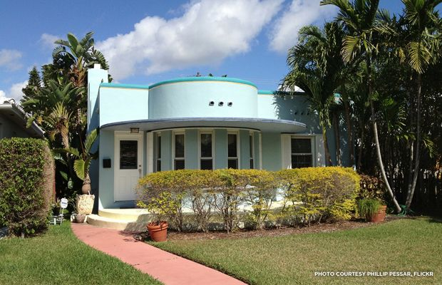 Art Deco Home art deco parapet | 10 on tuesday] buying a historic home: what's
