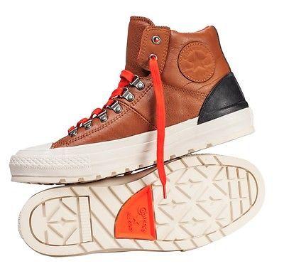 New Converse Chuck Taylor Leather Hi Top Street Hiker