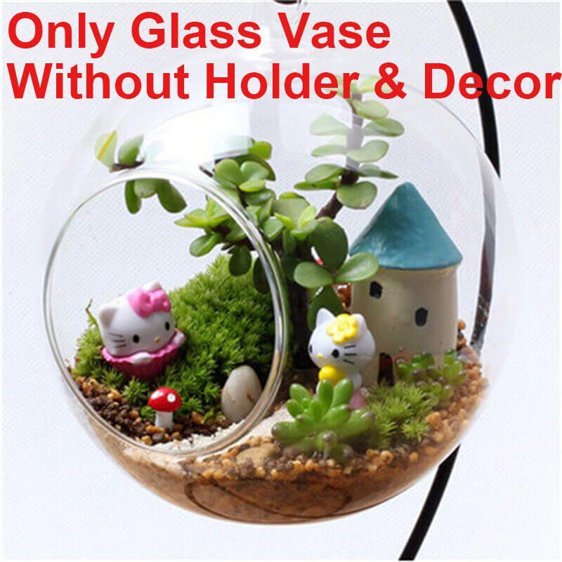Best Hanging Glass Planter Vase Terrarium Container Home Garden Ball