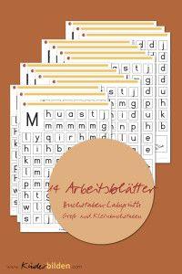kostenloser Download | Buchstaben-Labyrinth Groß- und ...