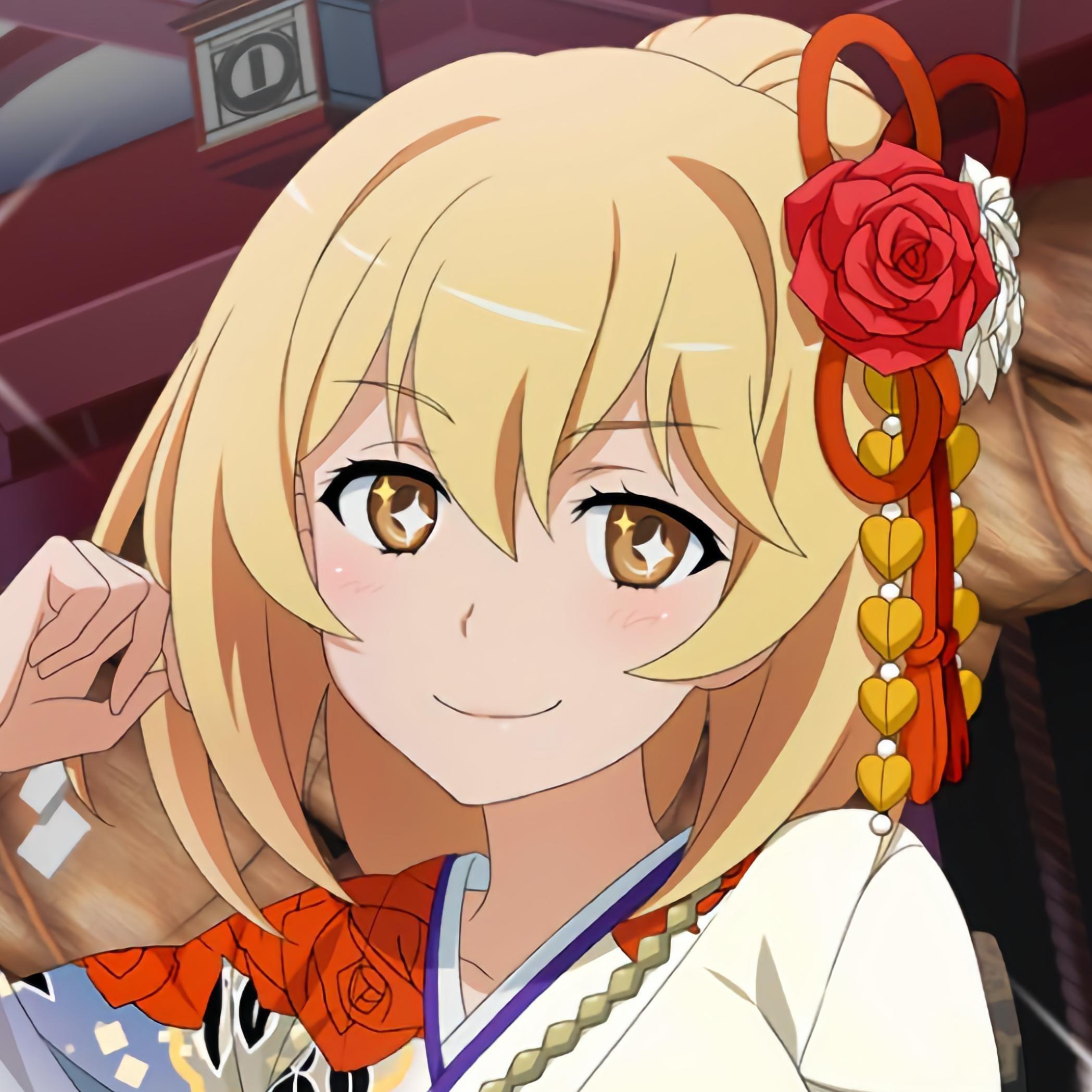 Shokuhou Misaki Anime Icon Jepang Hidup