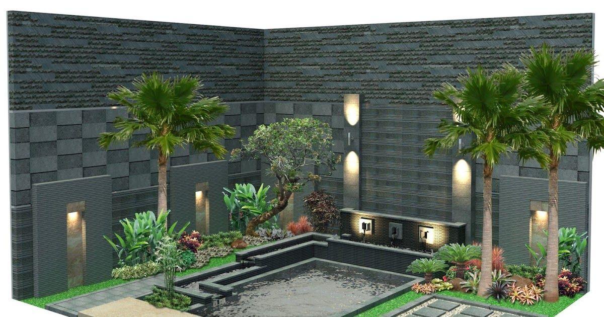Desain Taman Rumah Minimalis Pada Gambar Di Atas Terlihat Sangat