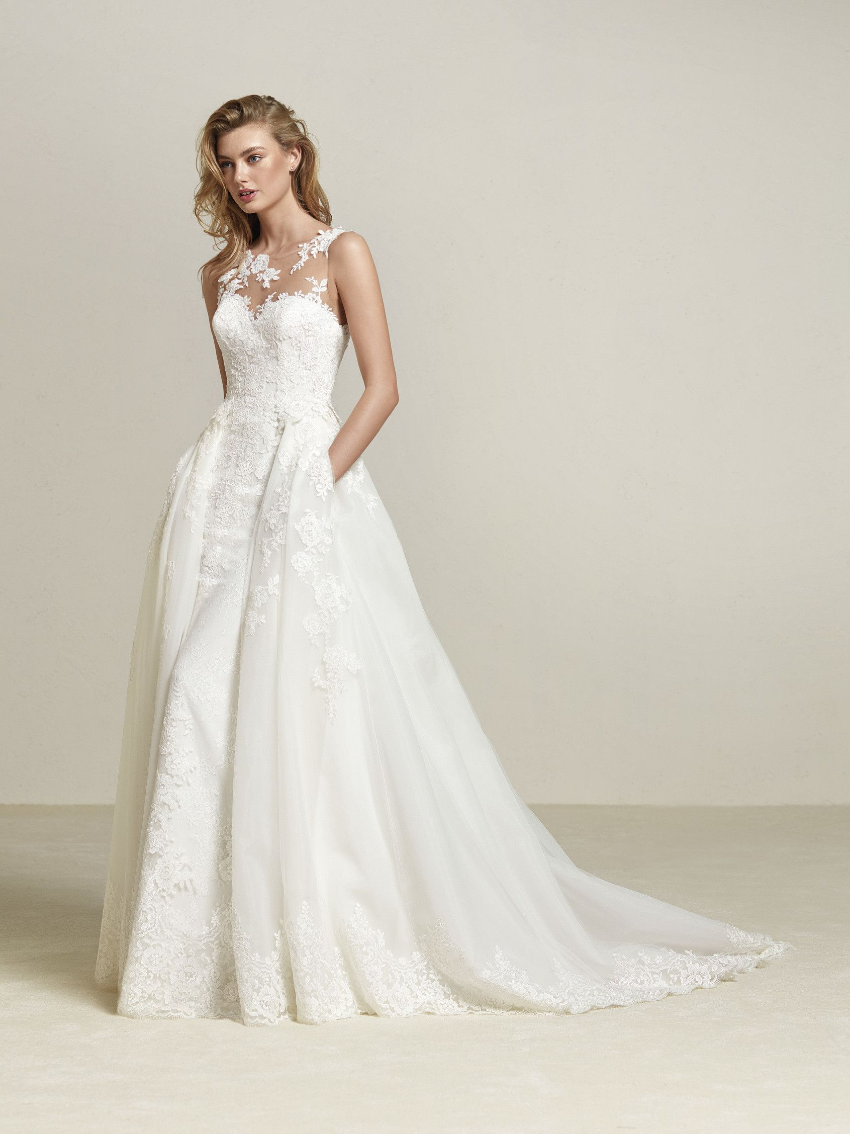 e5027d94f91 Pin by La Belle Mariee Bridal on Pronovias at La Belle Mariée in ...