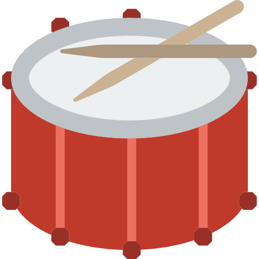 Drum Free Vector Icons Designed By Smashicons Icon Design Vector Icon Design Vector Free