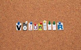 ...volunteer
