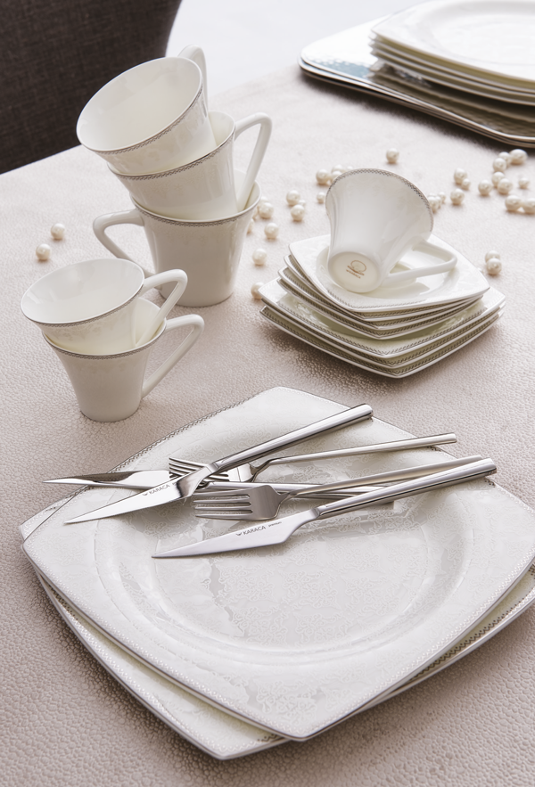 Fine Pearl Dinnerware ? Dinnerware made out of real pearls! View collection online at karaca & Fine Pearl Dinnerware ? Dinnerware made out of real pearls! View ...
