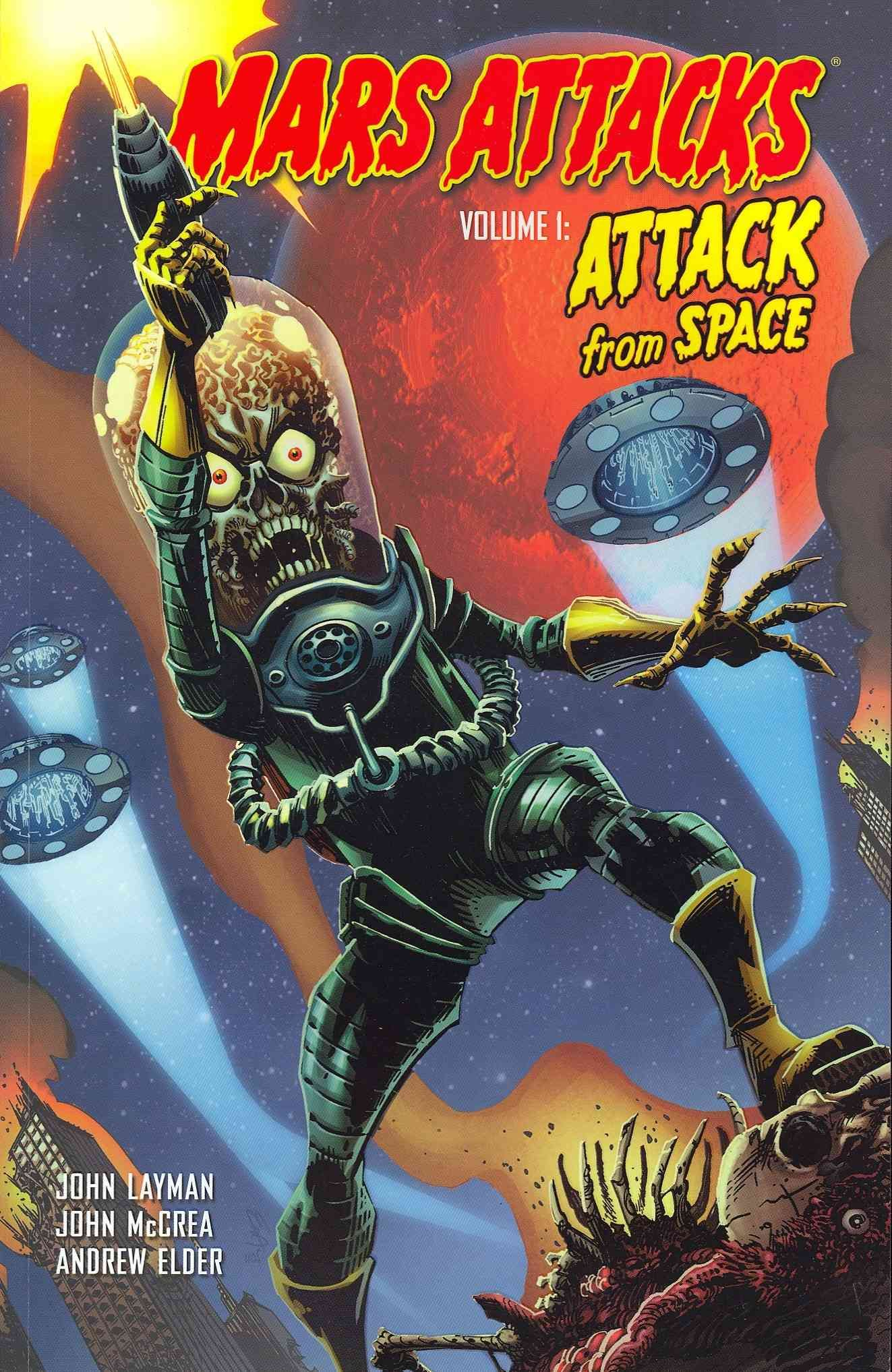 Mars attacks 1 attack from space paperback mars