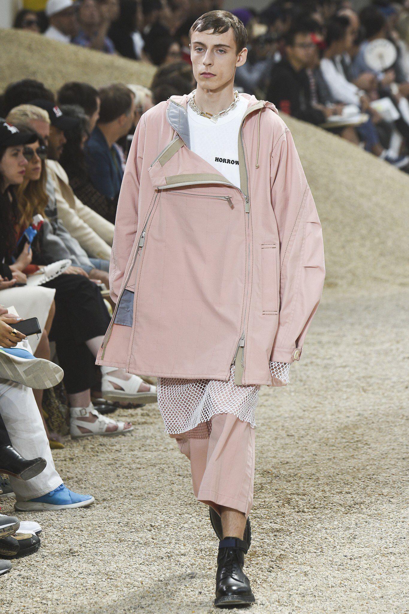 sacai - spring 2017 menswear
