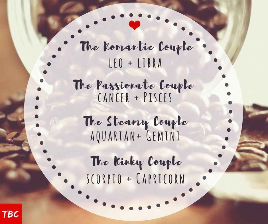 Sexual chemistry between zodiac signs