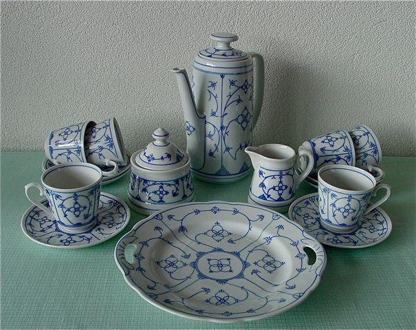 winterling bavaria germany indisch blau motiv indisch blau blau porzellan und royal. Black Bedroom Furniture Sets. Home Design Ideas
