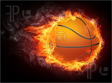 Fire realistic basketball transparent background PNG clipart | HiClipart