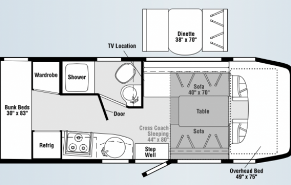 Sprinter Rv Floor Plans Quotes 711463 Sprinter Van