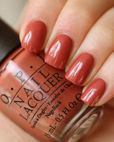 """OPI Germany Collection """"Schnapps Out of It"""" Fantastic Fall Color!"""