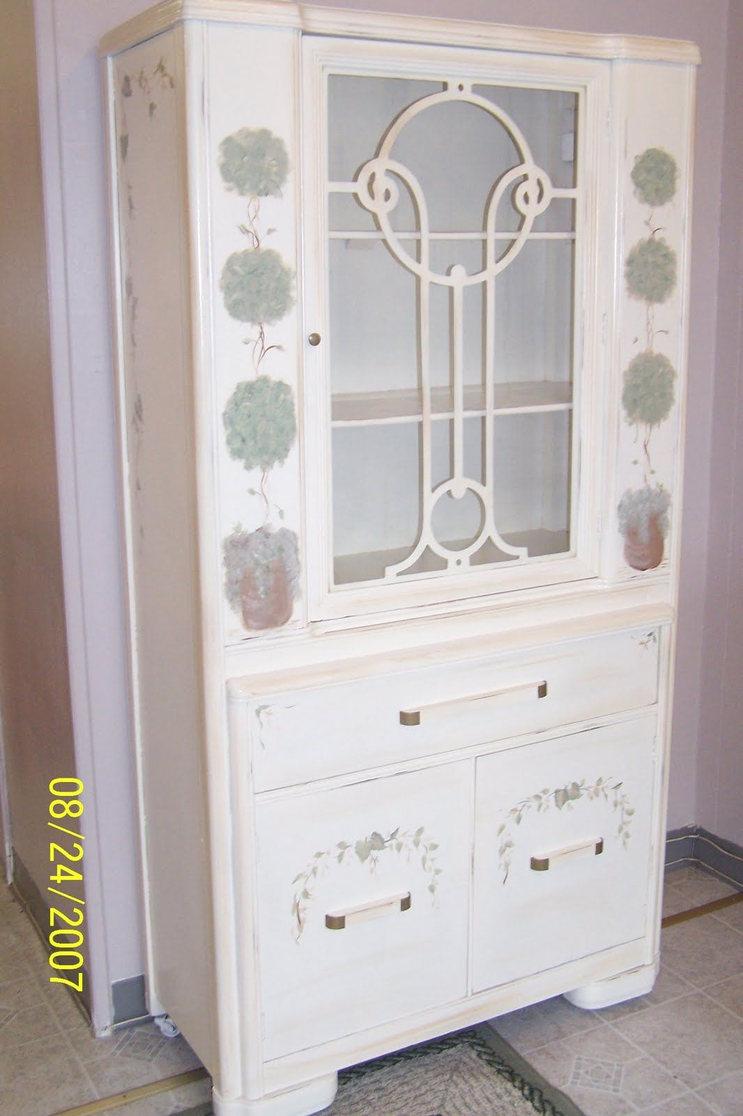 Art Deco Under Paint Booth Pinterest Furniture China Cabinet