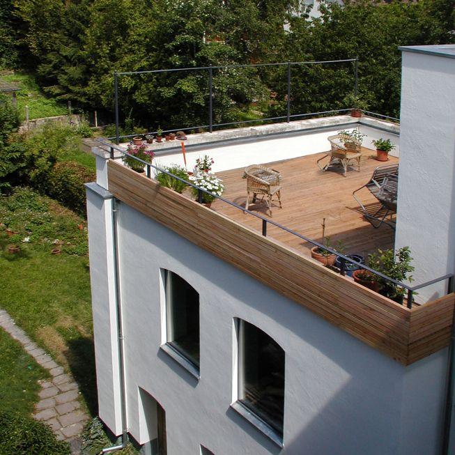 Bildergebnis für haus anbau flachdach Anbau Pinterest Gardens