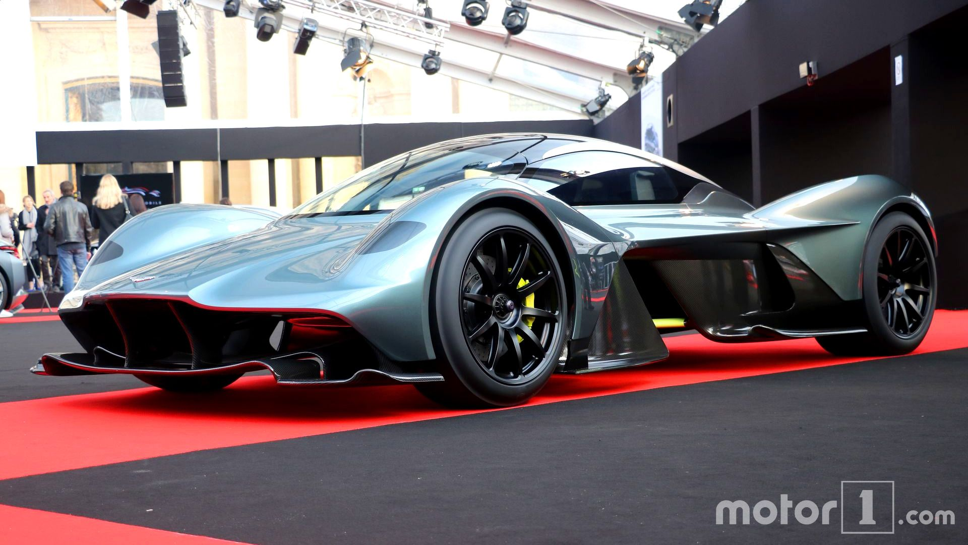 The New Aston Martin Am Rb 001 Hypercar Made Its Public Debut In