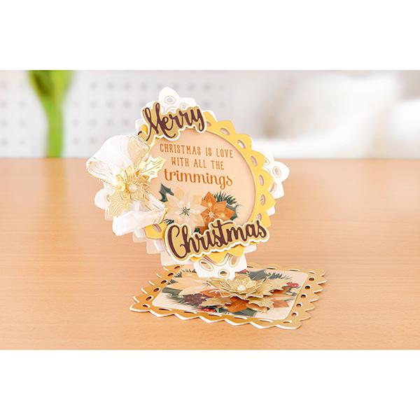 Kanban Christmas Floral Klick Cardmaking Kit (478650 ...