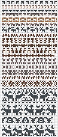 fairisle patterns | Вязание жаккард спицами | Pinterest | Fair ...