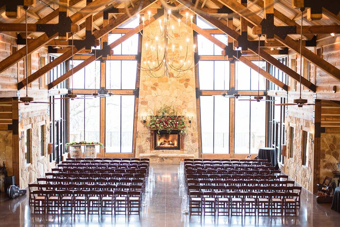 THE SPRINGS in Denton Indoor wedding ceremonies, Dallas